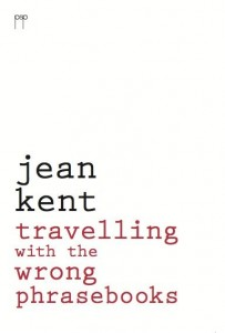 """Travelling with the Wrong Phrasebooks"" cover hardback"